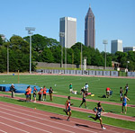 The George C. Griffin Track & Field Facility at Georgia Tech